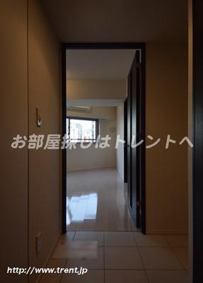 【玄関】パークキューブ八丁堀