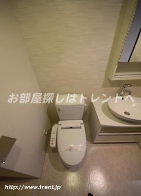 【トイレ】パークキューブ八丁堀