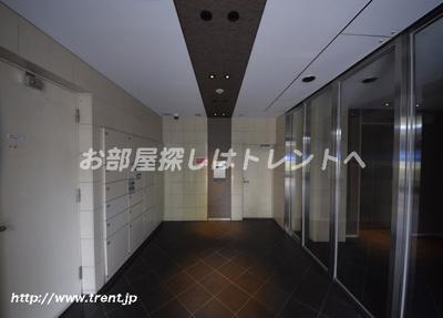 【エントランス】パークキューブ八丁堀