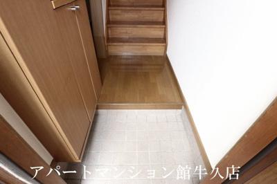 【玄関】霞台ハイツB
