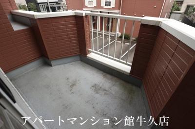 【バルコニー】霞台ハイツB