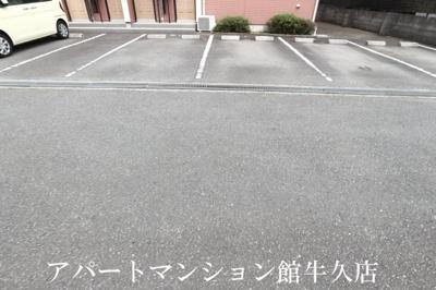 【駐車場】霞台ハイツB