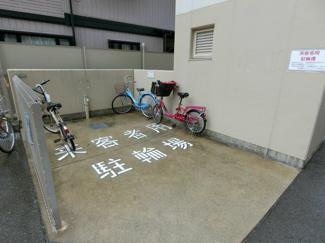 来客用駐輪場もあります♪