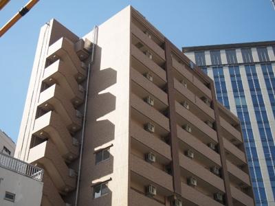 2005年築。門前仲町駅徒歩5分の立地です。
