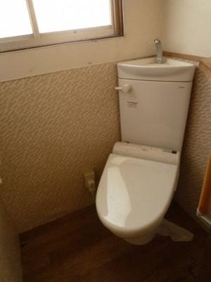 【トイレ】浅口市金光町占見 中古戸建て