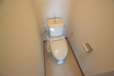 【トイレ】白い小さなマンション