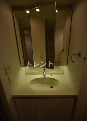 【洗面所】レキシントンスクエア白金高輪