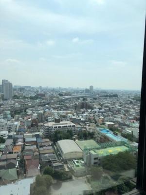 大崎ウエストシティタワーズ W棟 洋室(7.4帖)からの眺望