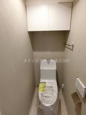 【トイレ】ヴェラハイツ亀戸参番館 6階 角 部屋 リ ノベーション済