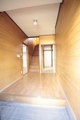 開放感のある玄関です♪