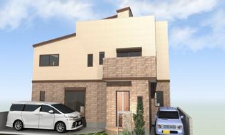 堺市西区上に新築一戸建てです