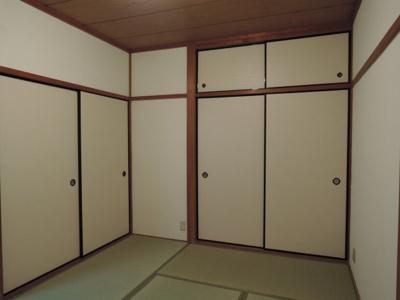 【寝室】コーポU.I