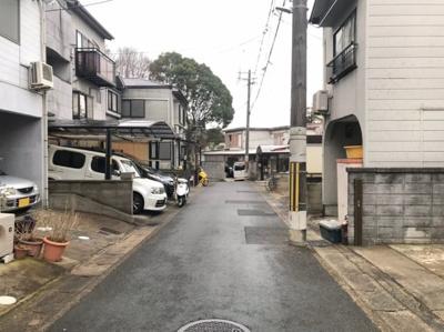 【前面道路含む現地写真】京都市山科区大宅古海道町