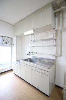 【キッチン】大和スカイハイツ