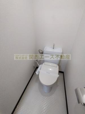 【トイレ】メゾン大和枚岡