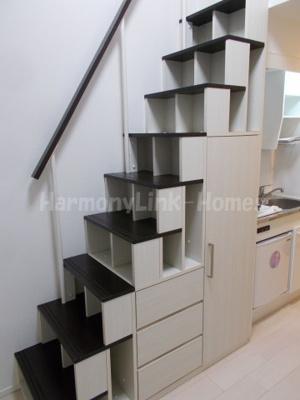 ポラリス上十条の収納付き階段☆