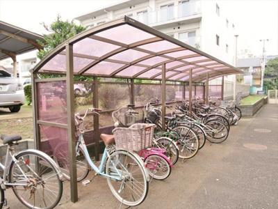 自転車置き場(無料)