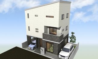 堺市西区上に新築一戸建てです  2世帯