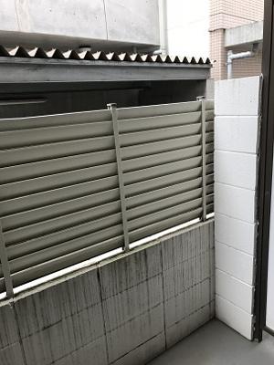ベランダからの眺望 1階ですが通りに面しておらず安心です! バ・ド・トロア
