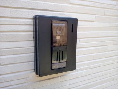 モニター付きインターフォン