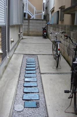 グランコンフォール中野Ⅰの駐輪スペース