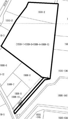 土地面積が1809.18㎡あります。
