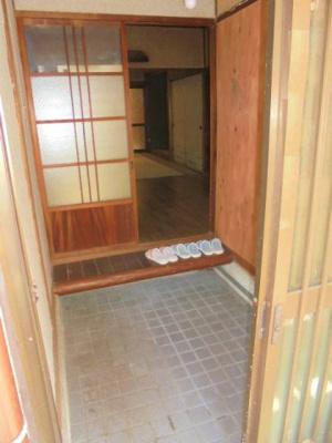 【玄関】住道矢田2丁目テラスハウス