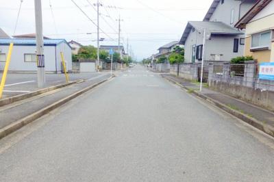 【前面道路含む現地写真】米子市永江売土地720万円