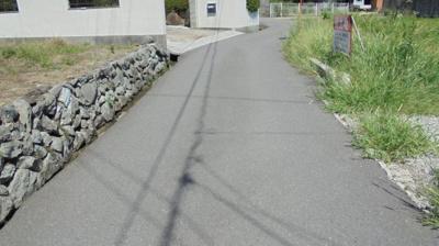 【前面道路含む現地写真】国分寺町売土地