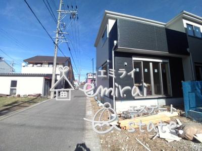 1月11日撮影 前面道路含む現地写真