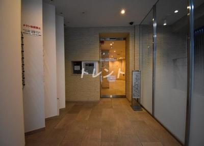 【エントランス】銀座二丁目レジデンス