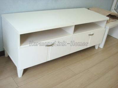 アベニティーⅡの収納テーブル(家具・家電はサンプルです)☆