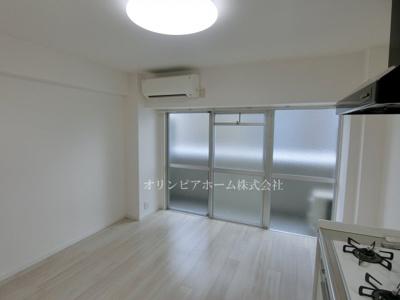 【居間・リビング】新大橋永谷マンション 3階 空室 美室