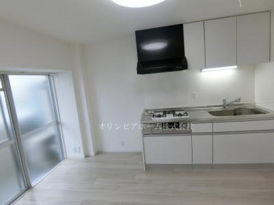 【キッチン】新大橋永谷マンション 3階 空室 美室