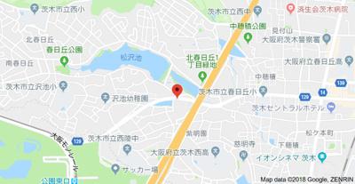 【地図】Navi2   スモッティー阪急茨木店
