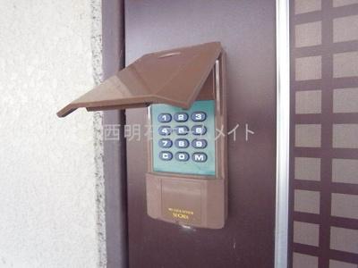 電子ドアロック