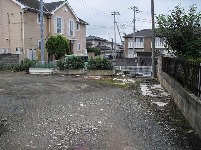 【前面道路含む現地写真】姫子2丁目土地