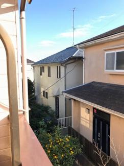 千葉市緑区あすみが丘 中古一戸建てのバルコニーからの眺めです。
