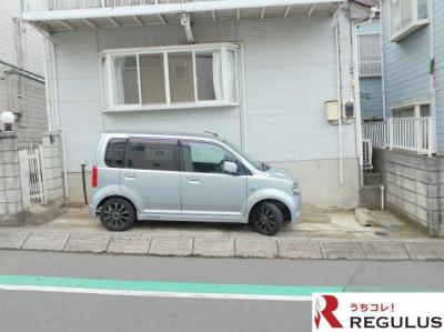 【駐車場】栗原貸家