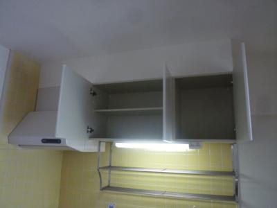 キッチンの収納です