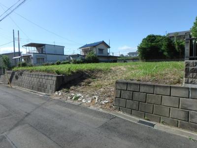 【外観】前橋市上泉町売地
