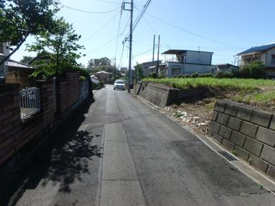 【前面道路含む現地写真】前橋市上泉町売地