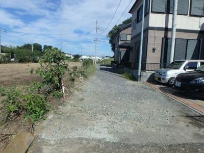 【前面道路含む現地写真】高崎市倉賀野町 売地