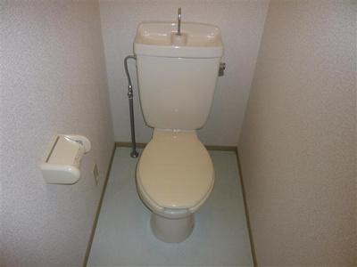【トイレ】モノクローム古城