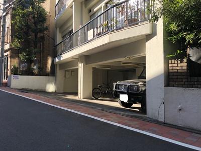 【外観】松涛ハウス駐車場