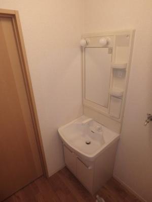大島 ビバリースクエアB 1LDK 洗面所