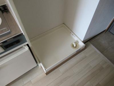 室内洗濯パンです