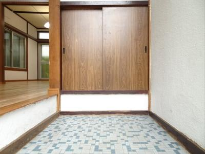 【玄関】旭ハウス
