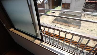 【バルコニー】九条3丁目貸家
