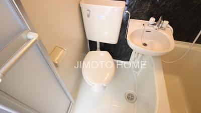 【トイレ】九条3丁目貸家